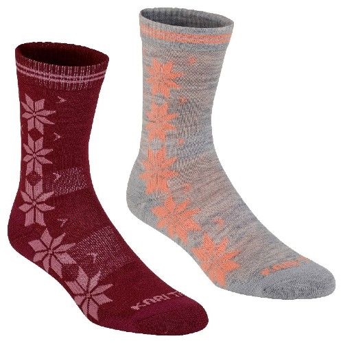 Kari Traa Vinst Wool Sock 2-PK Women's Port