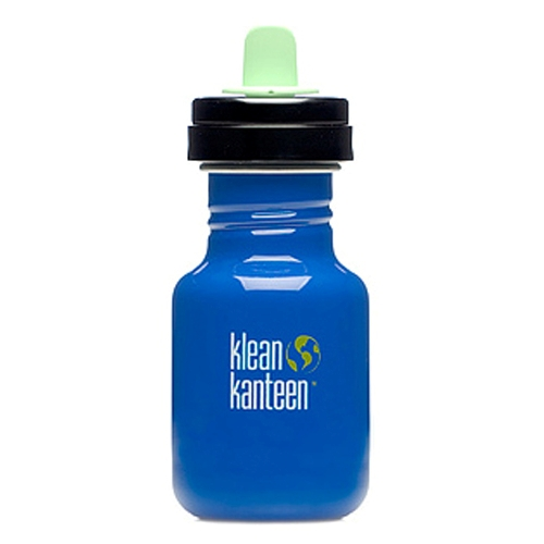 Kid Kanteen 12oz w/Sippy Adapter & 2 Spouts - Blue