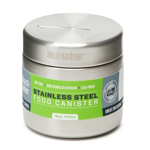 Klean Kanteen 16oz Canister Brushed Stainless