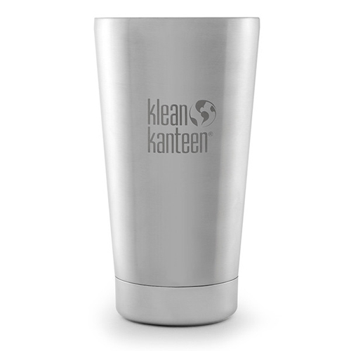 Klean Kanteen 16oz Tumbler Insulated Brushed Stainless
