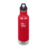 Klean Kanteen 20oz w/Loop Cap Mineral Red Insulated