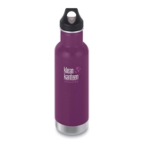 Klean Kanteen 20oz w/Loop Cap Winter Plum Insulated