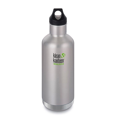 Klean Kanteen 32oz w/Loop Cap Brush Stain Insulated