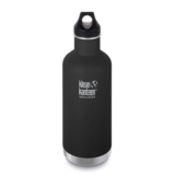 Klean Kanteen 32oz w/Loop Cap Shale Black Insulated
