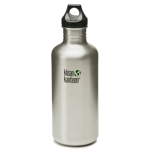 Klean Kanteen 40oz w/Loop cap Stainless Steel