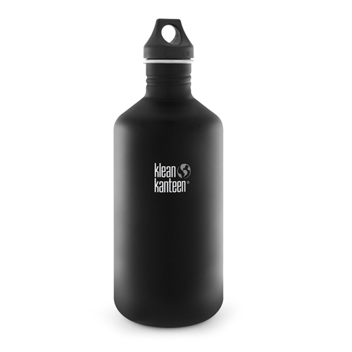 Klean Kanteen 40oz w/Loop cap Black