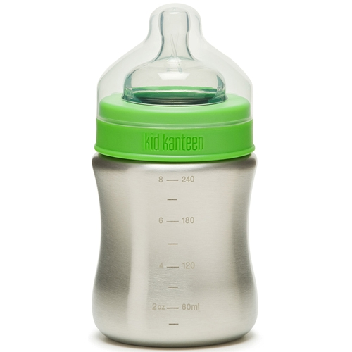 Klean Kanteen 9oz. Baby Bottle Brushed Stainless Steel - Klean Kanteen Style # K09BABY