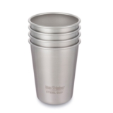 Klean Kanteen Pint Cup 10 oz Brushed Stainless (4 Pack)