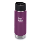 Klean Kanteen Wide 16oz Cafe Insulated Winter Plum
