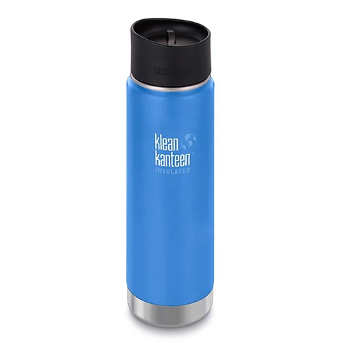 Klean Kanteen Wide 20oz Cafe Insulated Pacific Sky