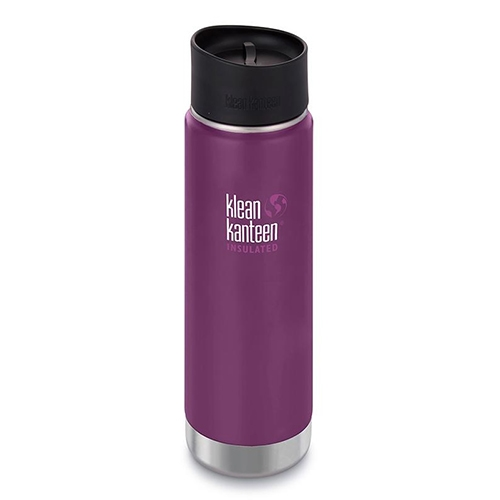 Klean Kanteen Wide 20oz Cafe Insulated Winter Plum