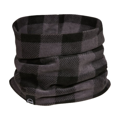 Kombi Comfiest Neckwarmer Unisex Grey Buffalo Plaid