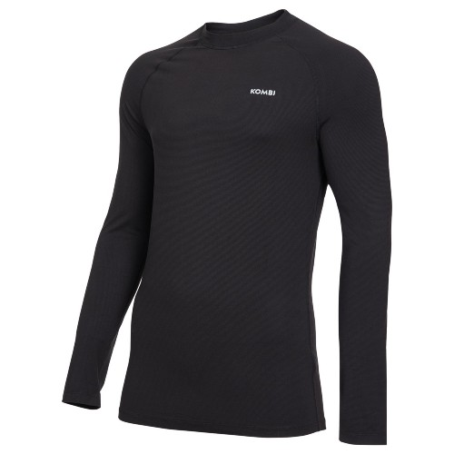 Kombi RH Active Crew Top Men's Black/Grey