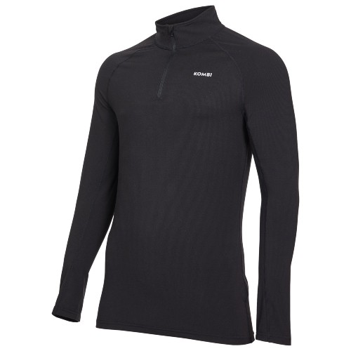 Kombi RH Active Zip Top Men's Black/Grey