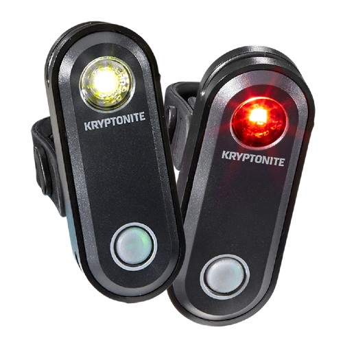 Kryptonite Avenue F65/R30 Set USB Rechargable Lights