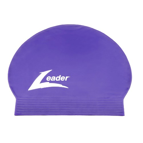Leader Latex Cap Unisex Purple
