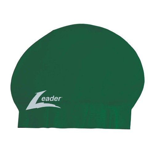 Leader Latex Cap Unisex Green