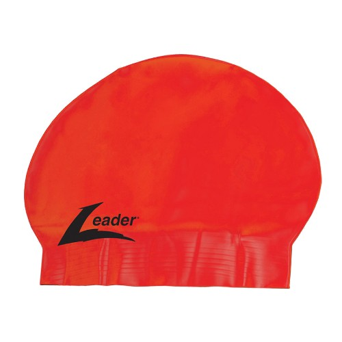 Leader Latex Cap Unisex Red