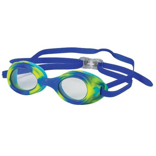 Leader Stingray Goggle Unisex Clear/Lime Green-Blue