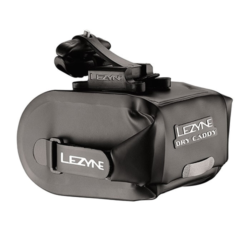 Lezyne Dry Caddy Saddle Bag Black
