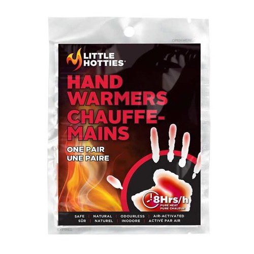 Little Hotties Hand Warmers Hand Warmers One Pair (8Hrs)
