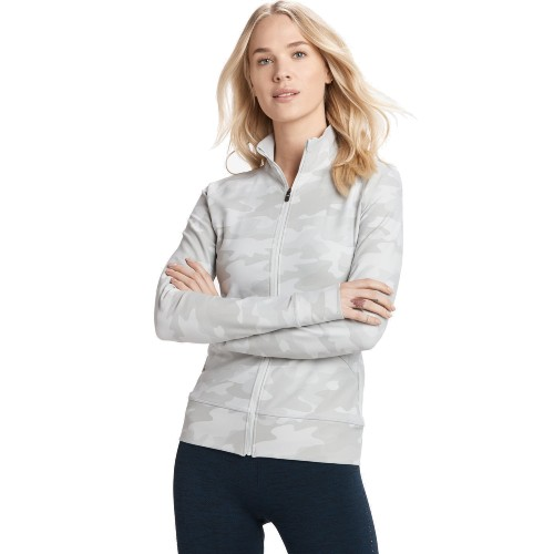 Lole Essential Up Cardigan Women's Pearl Camo