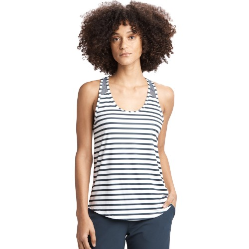 Lole Fancy 2 Tank Women's Blue Anchor Stripe