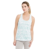 Lole Fancy Tank Women's Aruba Blue Reflection