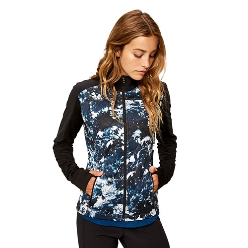 Lole Just Cardigan Women's Marine Ocean Wave