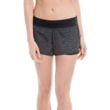 Lole Mindy Short Women's Black Reflective