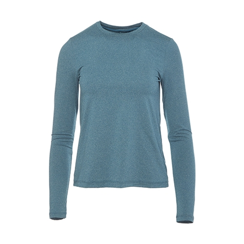 Lole Restore Long Sleeve Women's Night Lagoon Heather