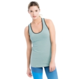 Lole Twist Tank Women's Aruba Blue Stripe