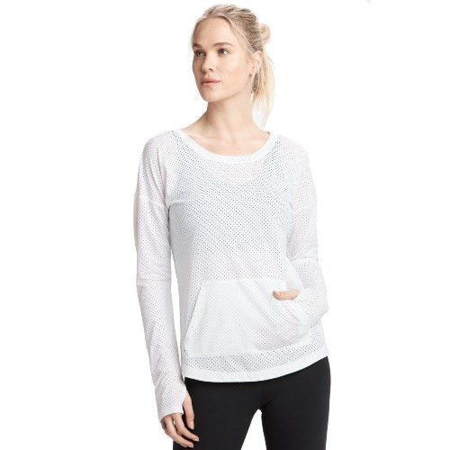 Lole Venture Long Sleeve Women's White
