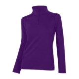 McKinley Marietta Dry+ T-Zip Women's Purple