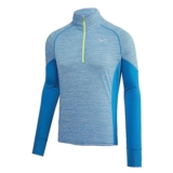 Mizuno Alpha LS 1/2 Zip Men's Directoire Blue