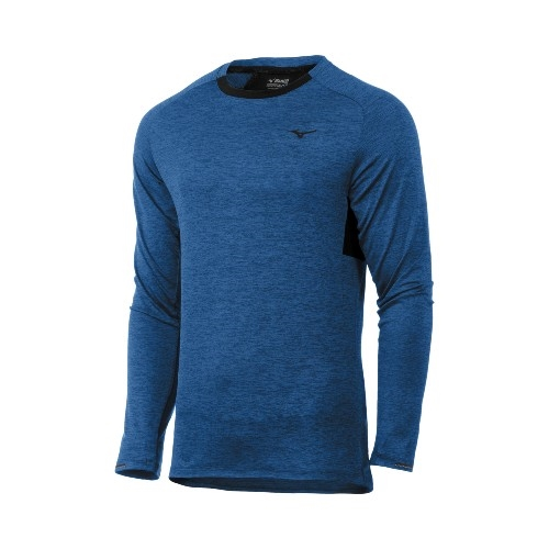 Mizuno Alpha Long Sleeve Men's Estate Blue