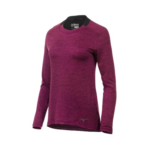 Mizuno Alpha Long Sleeve Women's Purple Potion