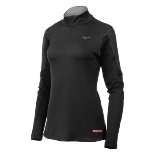 Mizuno BT 1/2 Zip Women's Black