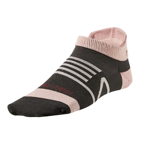 Mizuno BT Running Sock Low Unisex Dark Slate/Bridal Rose - Mizuno Style # 421356.8M15 CF16