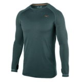 Mizuno BT Seamless Longsleeve Men's Dark Slate/Orange