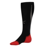 Mizuno Calf Compression Sock Unisex Black/Red