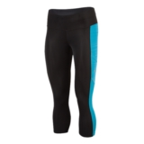 Mizuno Energy Capri Tight Women's Black/Atomic Blue