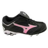 Mizuno Finch Franchise 9 Spike Women's Black/Pink