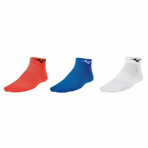 Mizuno Training Mid 3 Pack Unisex Coral/Blue/White