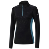 Mizuno Vortex Warmlite 1/2 Zip Women's Black/Tile Blue