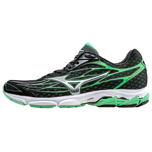 Mizuno Wave Catalyst Men's Black/Silver/Irish Green - Mizuno Style # 410748.9073 S16