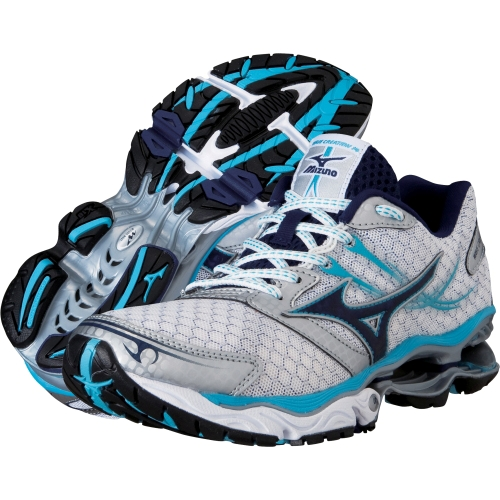 5a35404c83 Mizuno Wave Creation 14 Women s White Blue Depths - Mizuno Style    410517.006G F13