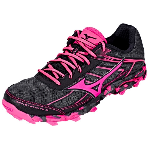 Mizuno Wave Hayate Women's Dark Shadow/Pink