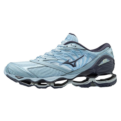 Mizuno Wave Prophecy 8 Women's Silver/Aqua Splash