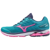 Mizuno Wave Rider 20 Women's Tile Blue/Pink Glo